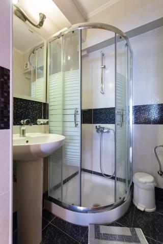 stratos apartments and studios big shower