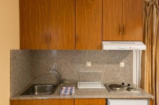 stratos apartments and studios kitchenette